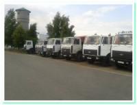 МАЗ 5516-20 тонн, МАЗ 5516 с пицепом -36 тонн