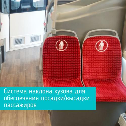 Система наклона кузова для обеспечения посадкивысадки пассажиров