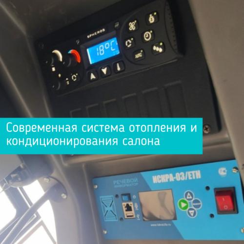 Современная система отопления и кондиционирования салона