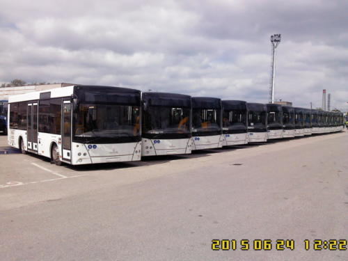 Автобусы значимые события